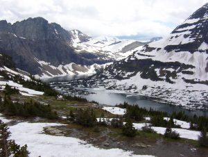 View from Hidden Lake Overlook