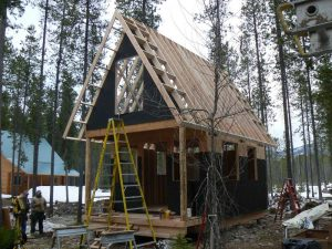 Adding the Roof & Front Porch