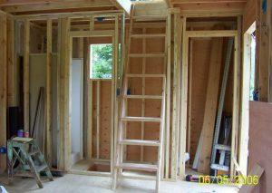 Interior Walls & Ladder Stairs