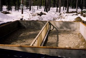 Footer, Foundation, & Pony Wall
