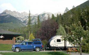 Camping at Fairmont Hot Springs
