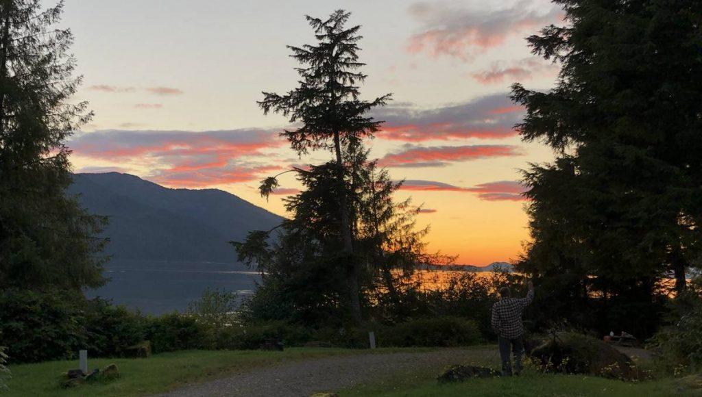Wrangell-Sunset
