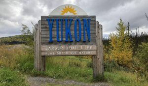 Entering the Yukon