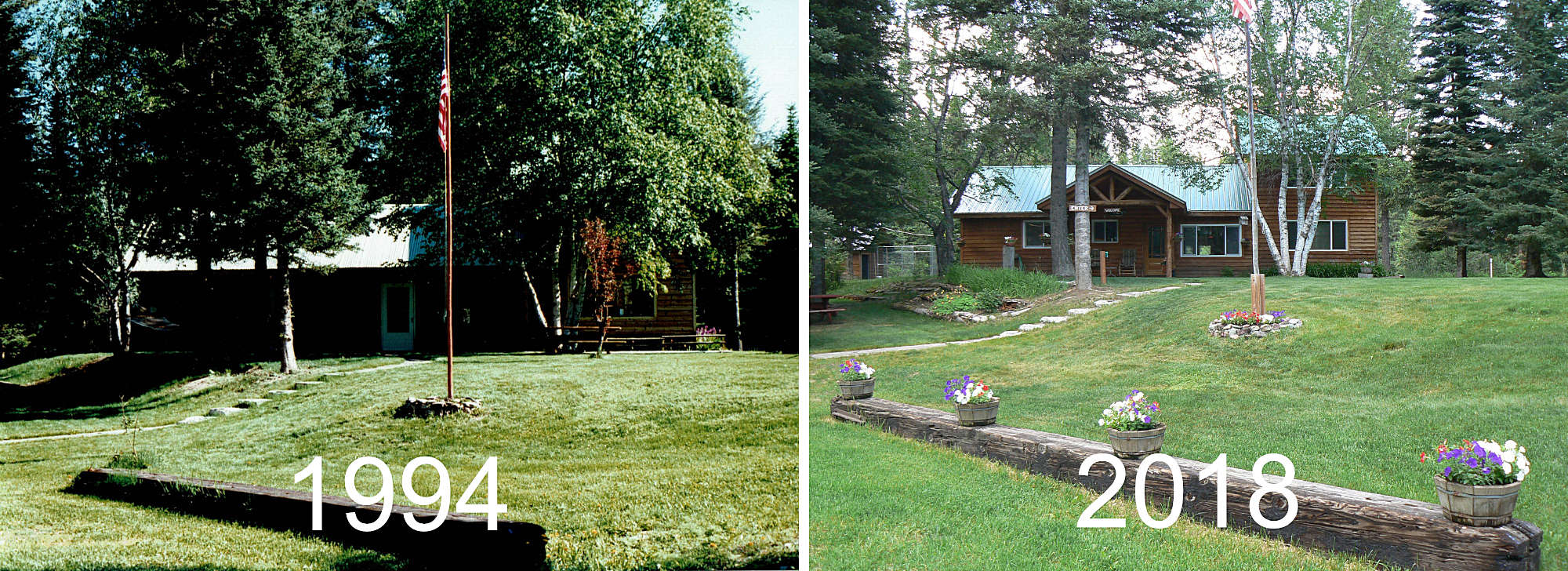 The Lodge Before & After
