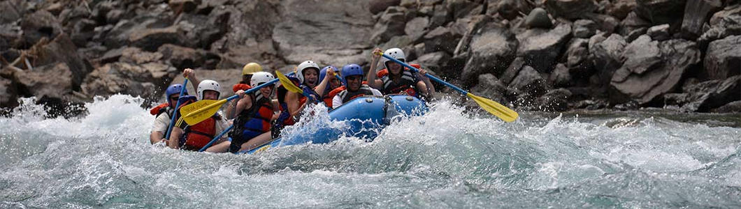 Attractions (White Water Rafting)